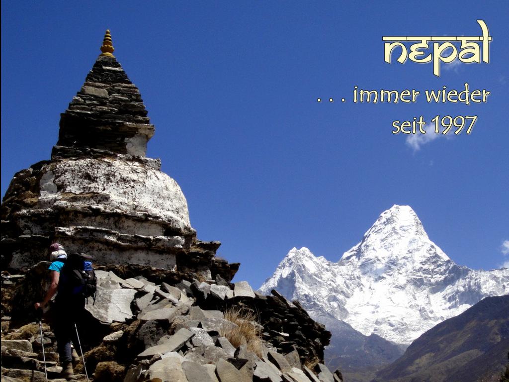 Unterwegs zum Everest Basecamp